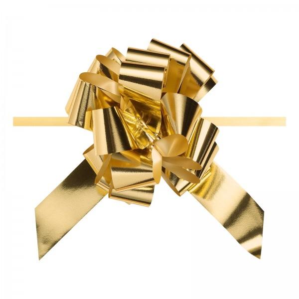 """Ziehschleife """"Granfiocco"""" Gold-Metallic"""
