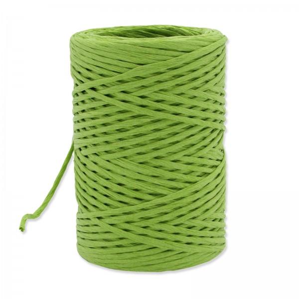 Papierkordel mit Draht Grün, ø 2mm x 50m