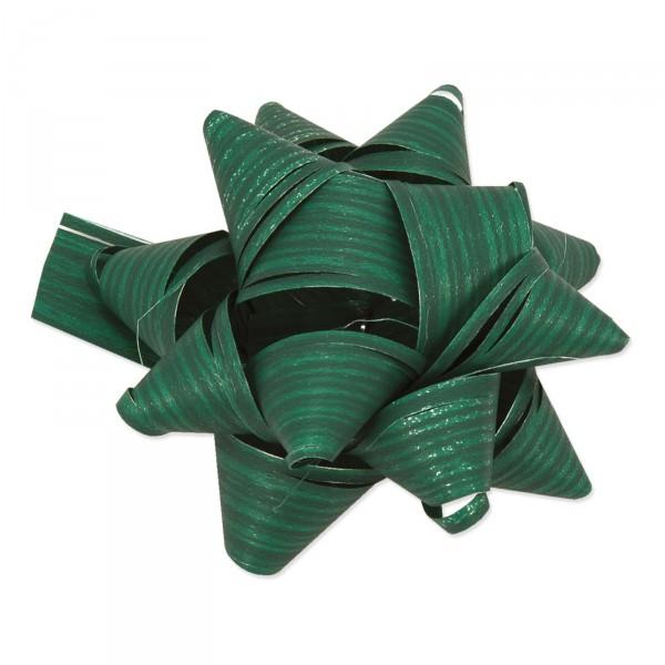 "Fertigschleife ""Stelle Raphia"" Grün, selbstklebend"