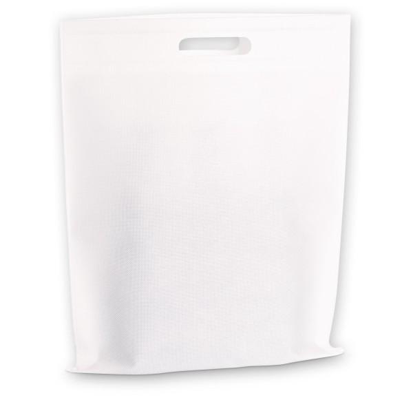Einkaufstasche 3er Weiß aus Vlies (non-woven)