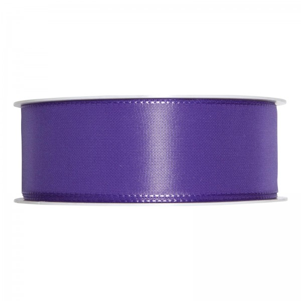 "Geschenkband ""Uni"" Lila (Lavendel) 40mm x 50m"