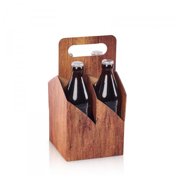 """""""Timber"""" 4er Tragekarton Bier/Saft"""