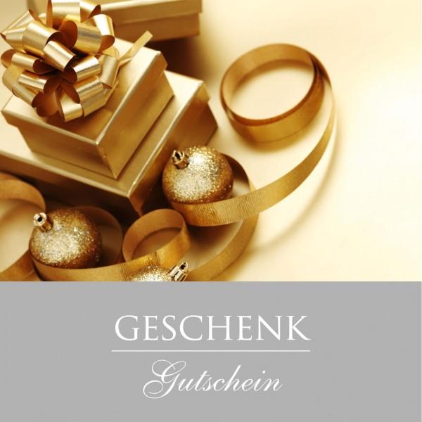 """Gutschein """"Frohe Weihnachten"""" Grau, 120x120mm"""