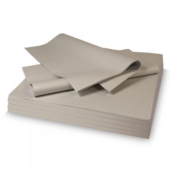 Packseidenpapier grau 25g/qm 500x375mm 12,5 Kg