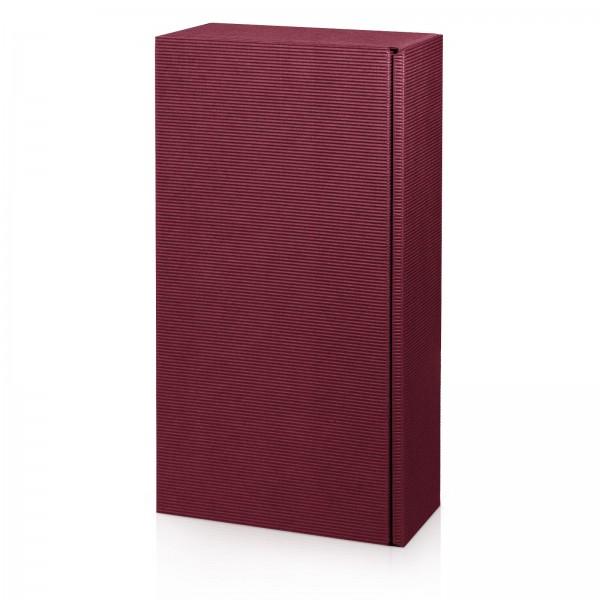 """Modern Bordeaux"", 2er Präsentkarton"