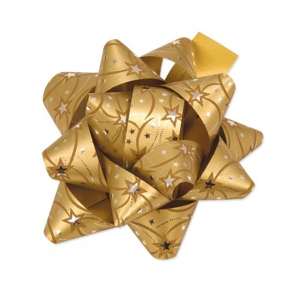 """Fertigschleife """"Stelle Kerry"""" Gold, selbstklebend"""