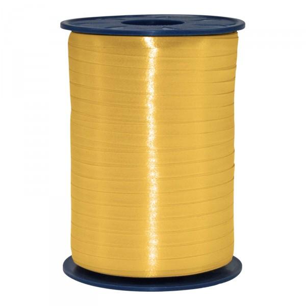"""Geschenkband """"Ringelband Gold"""" 5mm x 500m"""