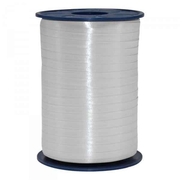 """Geschenkband """"Ringelband Silber"""" 5mm x 500m"""