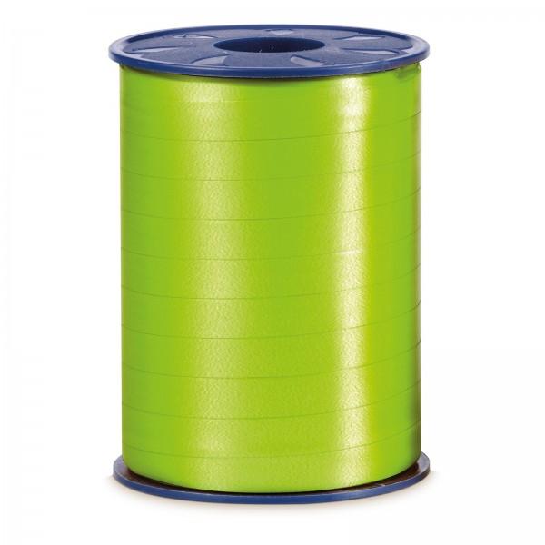 "Geschenkband ""Ringelband Apfelgrün (Hellgrün)"" 10mm x 250m"