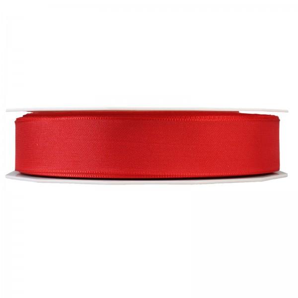 """Geschenkband """"Uni"""" Rot 25mm x 50m"""