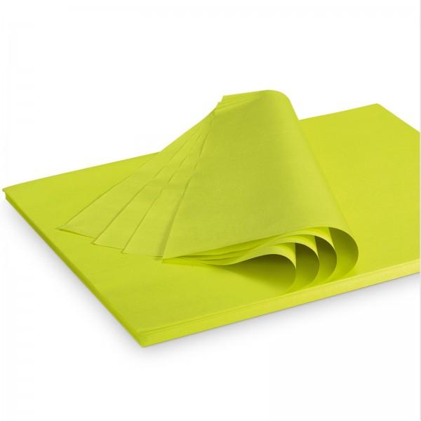 "Seidenpapier ""Limette"" 35g/qm 500x375mm 2 Kg/ ca.300 Blatt"