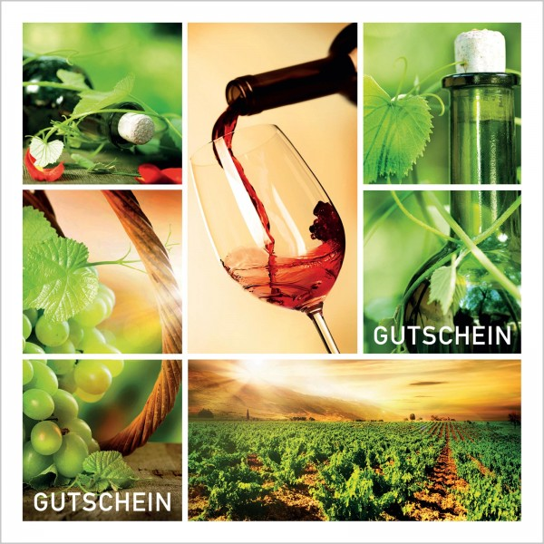 """Gutschein """"Vino"""""""