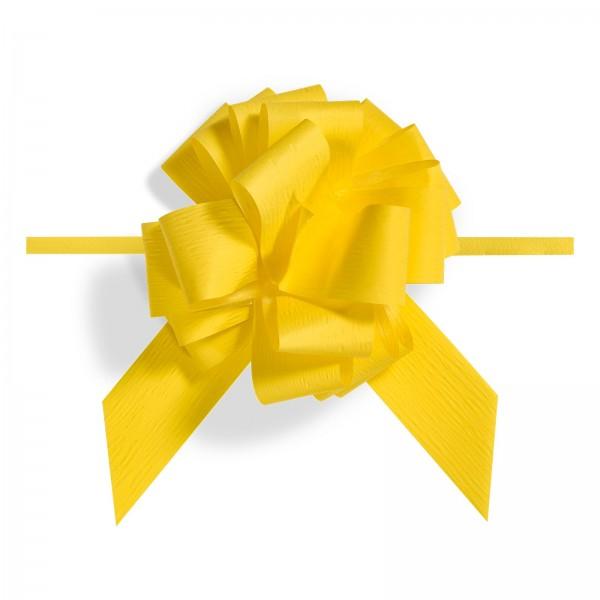 """Ziehschleife """"Granfiocco Paper"""" Gelb"""