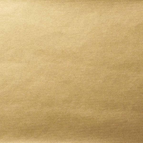 "Geschenkpapier ""Gold"" Kraftpapier gerippt"