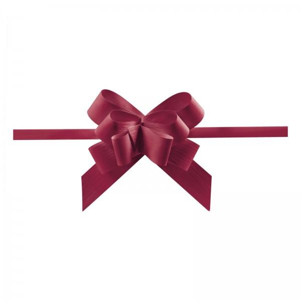 "Ziehschleife ""Grangala Paper"" Bordeaux"