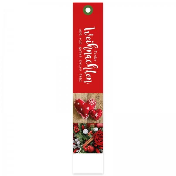 """Geschenkanhänger """"Weihnachten rot"""""""