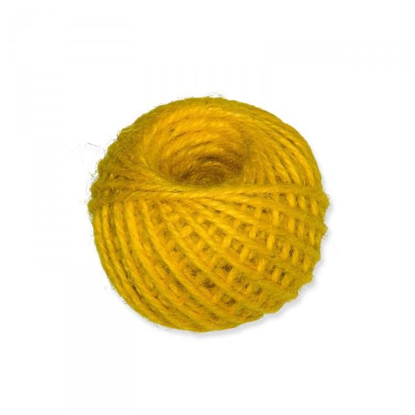 Jutekordel Gelb 3mm x ca. 46m