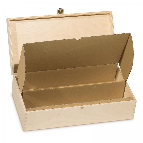 Versand-Einlage braun, 2er für Holzkisten 360mm