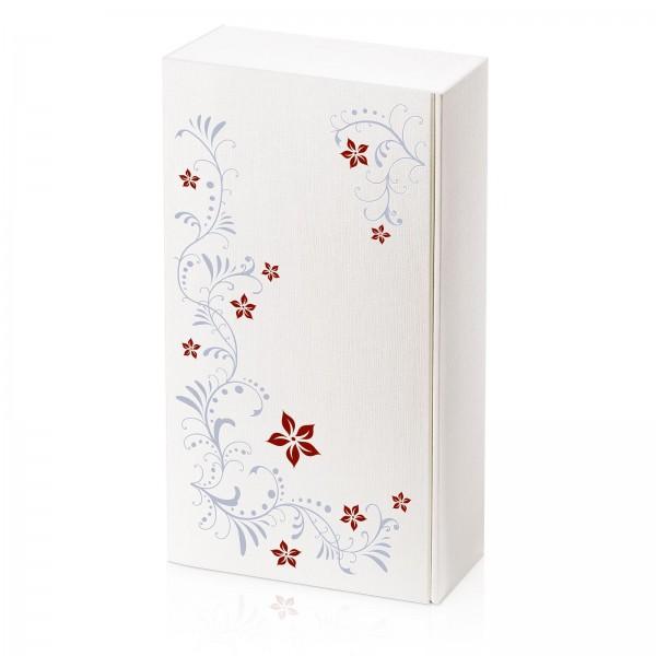 """""""Seta Bianco Flora"""" geprägt, 2er Präsentkarton"""